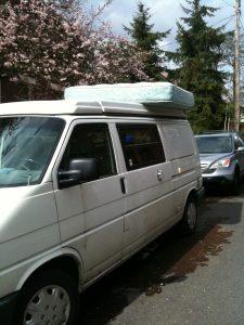 bed bug mattress on van