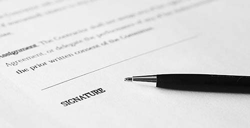 bed bug company contract