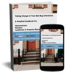 ebook cover taking charge of your bed bug infestation